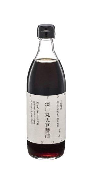 画像1: 淡口(うすくち)丸大豆醤油 500ml (1)